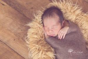 Ensaio de newborn (recém nascido) do Leo